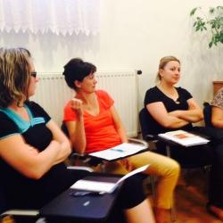 Katechetikai munkacsoport munkatársainak megbeszélése